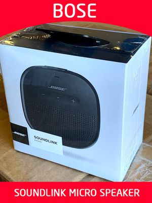 Why buy used? Buy NEW & SEALED BOSE SOUNDLINK MICRO BLUETOOTH SPEAKER. RUGGED AND WATERPROOF. for Sale in Tigard, OR