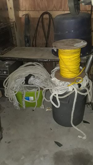 Tons of rope for Sale in Hudson, FL