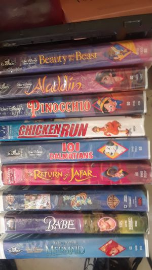 VHS all$5 for Sale in North Highlands, CA