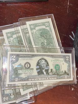 Limited Edition $2 Bills for Sale in Houston,  TX