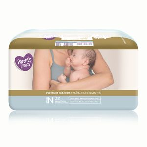 Premium Diapers, Parent's Choice, Size Newborn, 32 Diapers for Sale in Riverside, CA