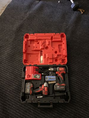 Milwaukee m18 fuel drill kit for Sale in San Diego, CA