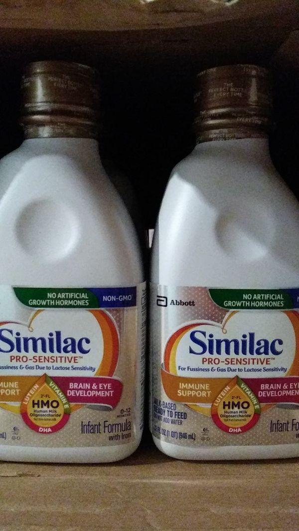 Pro-Sensitive formula (Similac).