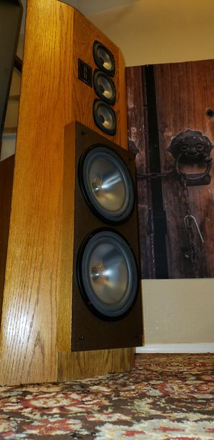 Rare Vintage Audiophile Speakers / Infinity Reference Standard II / Mirror Imaged Matched Pair for Sale in Maricopa, AZ