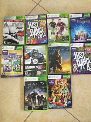 Xbox 360, Wii, & PlayStation 3 games for Sale in Corona, CA