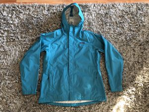 Like NEW Patagonia h2no women's rain jacket size XL for Sale in Everett, WA