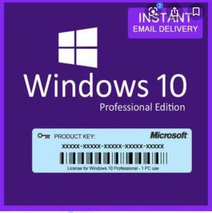 Windows 10 pro key for Sale in San Jose, CA