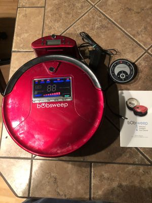 BoBsweep Pet Hair Robotic Vacuum & Mop for Sale in Chicago, IL