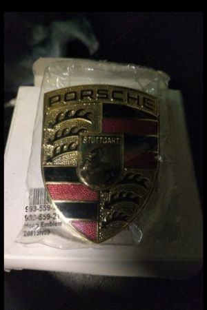 Original PORSCHE 911 Hood Crest OEM--Brand New in Box and wrapped 911 930 964 993 for Sale in Fairfax, VA