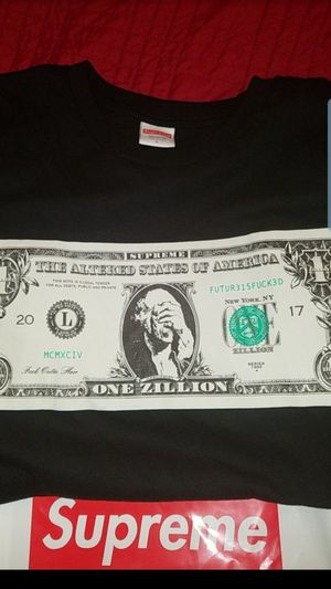 Supreme dollar tee size large for Sale in San Jose, CA