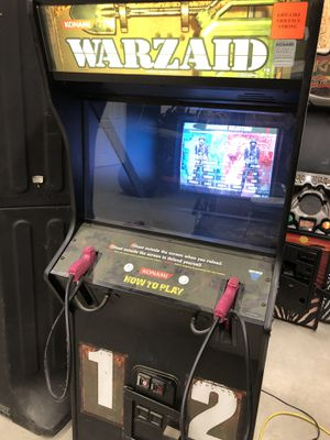 Warzaid Arcade shooting game for Sale in Bakersfield, CA