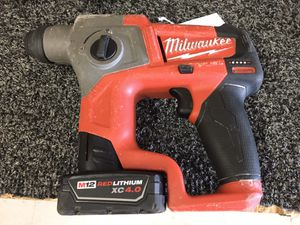 milwaukee hammer drill (model: 2416-20) w/1battery for Sale in Austin, TX