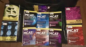 MCAT Study Books Box Set for Sale in Vallejo, CA