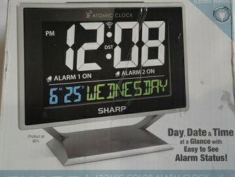 Sharp alarm clock for Sale in Long Beach,  CA