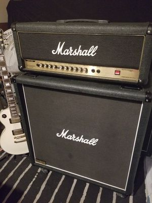 "Marshall 2000 AVT50H HYBRID PRETUBE GUITAR AMP & Marshall MX412A Lead 4x12"" 240WATT CAB Brand NEW for Sale in Rancho Santa Margarita, CA"