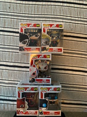 Persona 5 Funko pops for Sale in Rancho Cordova, CA