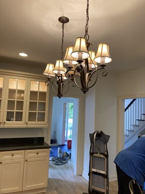 Traditional chandeliers - set of three for Sale in New Albany, OH