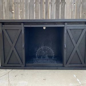 Sliding Barn Door Console MADE BY ORDER *ONLY* for Sale in Bakersfield, CA
