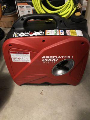 Predator 2000 watt generator for Sale in Forney, TX