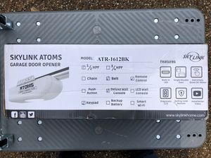 SkyLink Atoms 1/2 HPF Belt Drive Garage Door Opener for Sale in Argyle, TX