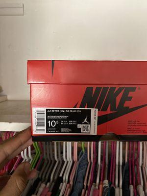 Jordan 1 Fearless size 10.5 for Sale in Santa Ana, CA