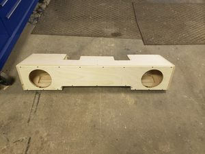 """Under seat box fits large 8"""" subs ported for Sale in Raleigh, NC"""