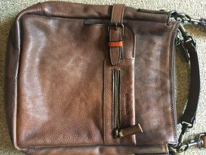 Italian Leather Messenger Bag (from Florence) for Sale in Issaquah, WA