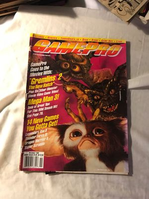 GamePro magazine November 1990 Gremlins 2 edition for Sale in Eau Claire, WI