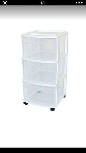 Plastic drawers for Sale in Washington, DC