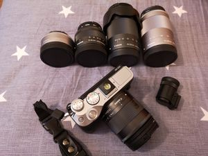 Canon M6 with five lens for Sale in St. Louis, MO