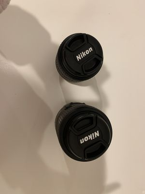 Nikon lenses for D3300 for Sale in Los Angeles, CA