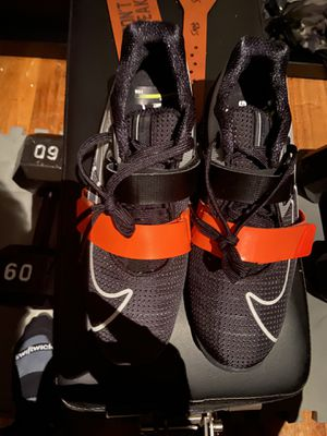 Brand new size 10 nike Romelo powerlifting shoes for Sale in New York, NY
