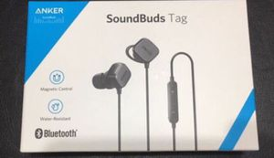 Brand new Anker soundbudgs tag Bluetooth wireless headphones for Sale in Lewis Center, OH