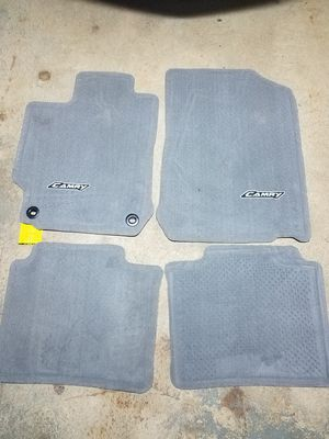 Toyota 12'-14' Camry xle carpet floor and trunk mat for Sale in Baltimore, MD