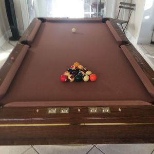 Pool Table And Accessories for Sale in St. Petersburg, FL