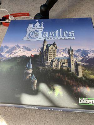 Castles of mad king Ludwig board game for Sale in San Diego, CA