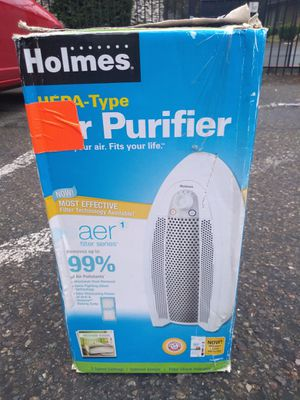 Holmes Hepa Type Air Purifier for Sale in Tacoma, WA