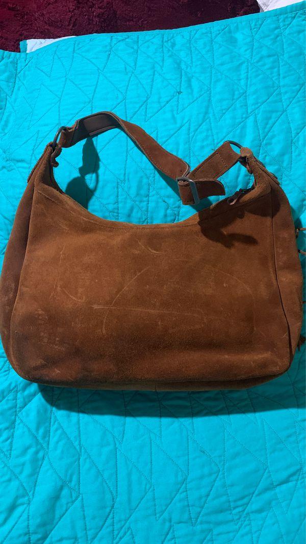 Minnetonka suede leather handbag, purse, bag. Local pick up only.