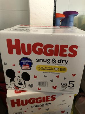 $15 Huggies Pampers Sizes 4&5 for Sale in Windermere, FL