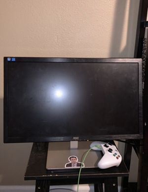 gaming monitor or computer monitor for Sale in Modesto, CA