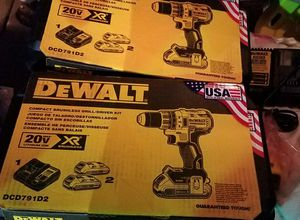 Compact BRUSHLESS XR drill/driver kit for Sale in Nashville, TN