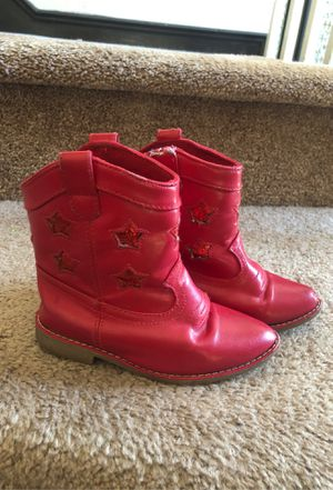 Gymboree size 8 girls boots for Sale in Corona, CA