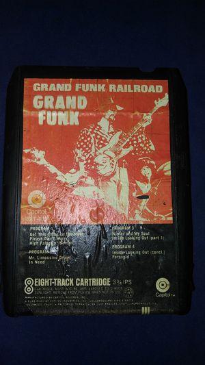 Very rare Grand Funk Railroad 8 track tape for Sale in Commerce, CA