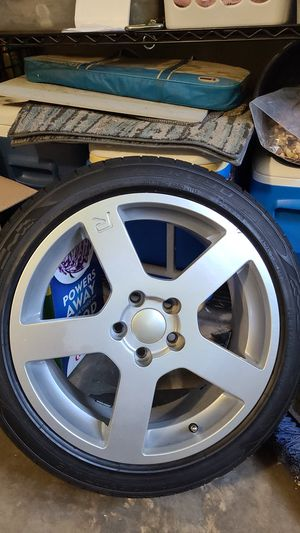 Like new used rims with tires for Sale in Stone Mountain, GA