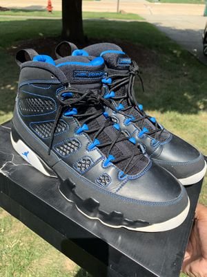 Jordan 9 Retro Photo Blue. Size 12. Used. Only using the app for Purchase. for Sale in MAYFIELD VILLAGE, OH