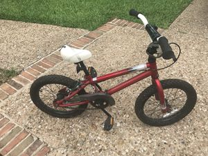 Kids red 16in bicycle for Sale in Austin, TX