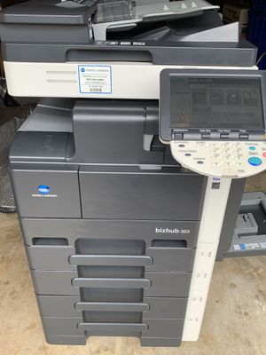 Konica Minolta bizhub 363. LASER Print, Copy, Scan at 36PPM B&W TEST B4 U BUY!! Shipping Available! for Sale in Clermont, FL