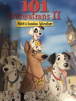 101 Dalmatians 2 Patch's London Adventure Dvd Movie for Sale in Elma,  WA