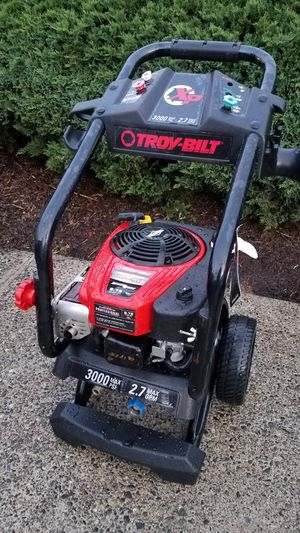 Troy-Bilt 3000 psi 190 cc Pressure Washer for Sale in Renton, WA