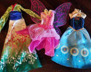 3 Barbie Dresses for Sale in Vancouver,  WA
